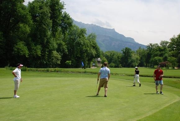 Golf à Aix les Bains