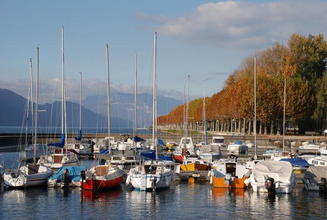 Port du lac du Bourget