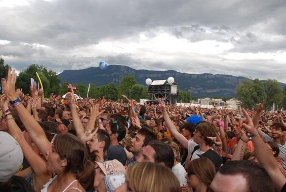 Public de Musilac Festival pop rock