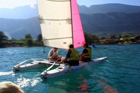 Voile Aix les Bains Lac du Bourget