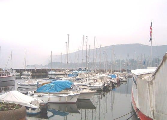 Vue de Grand port d'Aix-les-Bains